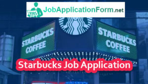 Starbucks Job Application Online