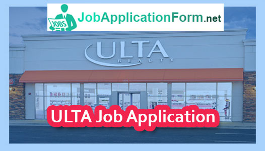 Ulta Job Application Online