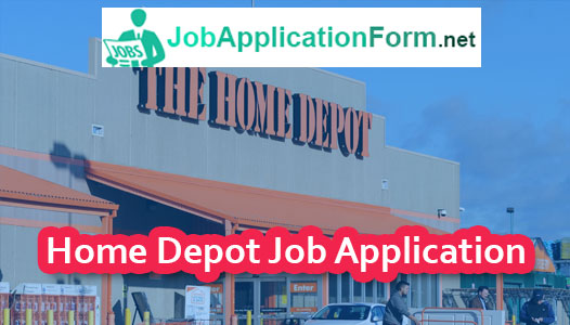 Home Depot Job Application Online