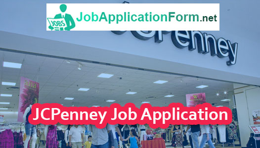 JCPenney Job Application Online