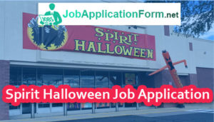 spirit halloween job application online