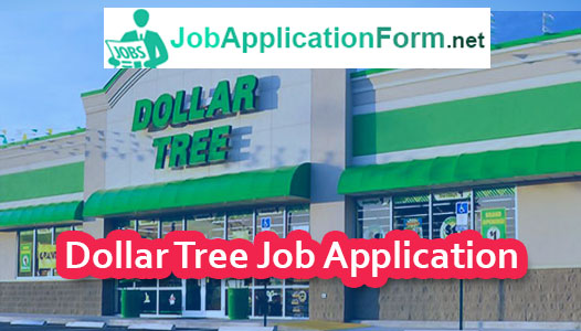 Dollar Tree Job Application Form   JobapplicationformNet