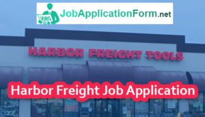 Harbor Freight Tools Job Application Online