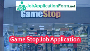Gamestop Job Application Online