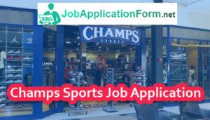 Champs Sports Application Online \u0026 PDF