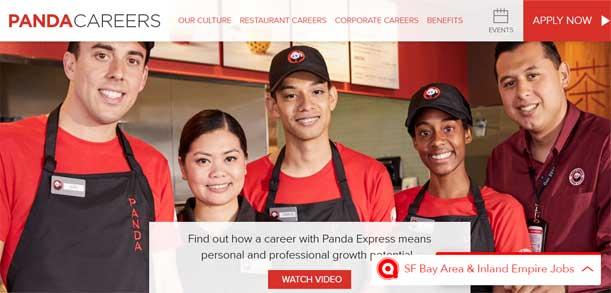 Panda Express Application Online