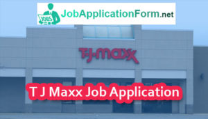 T-J-Maxx-job-application-form-300x171 Job Application Form For Year Olds on