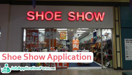 Shoe Show Job Application