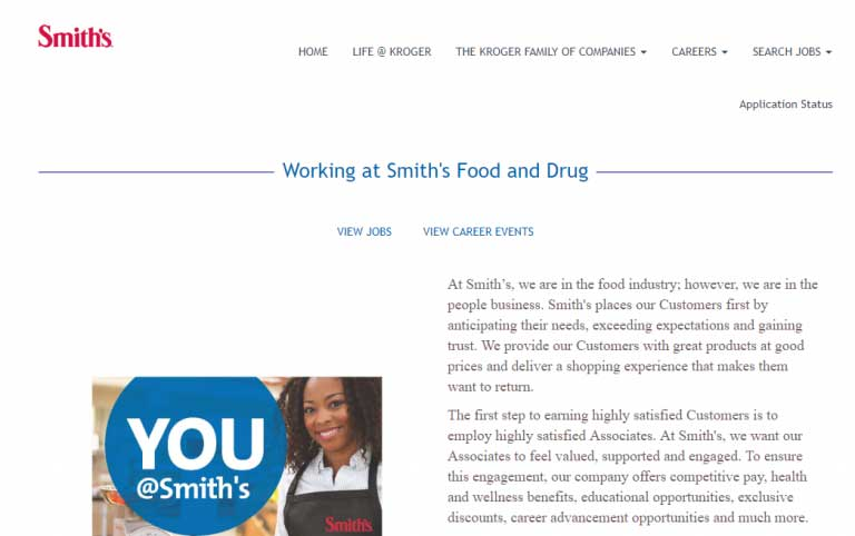 Smith's Food And Drug Application
