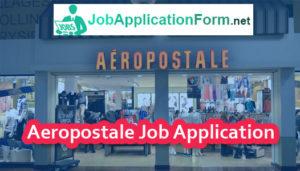 Aeropostale Job Application Form