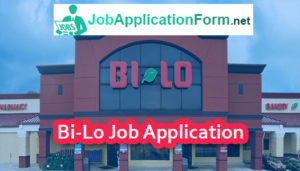 Bi-Lo Job Application Form