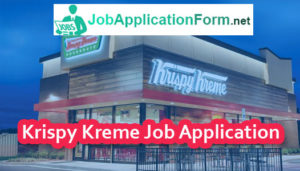 Krispy Kreme Job Application Form