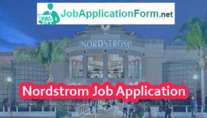 Nordstrom Job Application Form