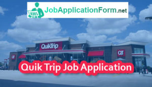 Quik Trip Job Application Form