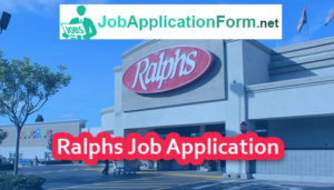 Ralphs Job Application Form