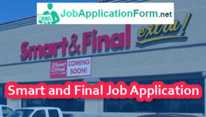 Smart and Final Job Application Form