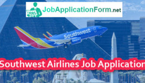 Southwest Airlines Job Application Form