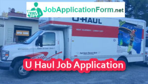 U-Haul Job Application Form