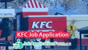 KFC Job Application Form