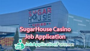SugarHouse Casino Job Application Form