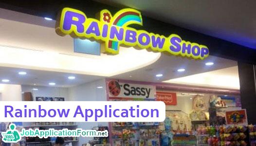 Rainbow Job Application