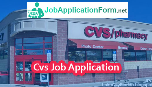CVS Online Application