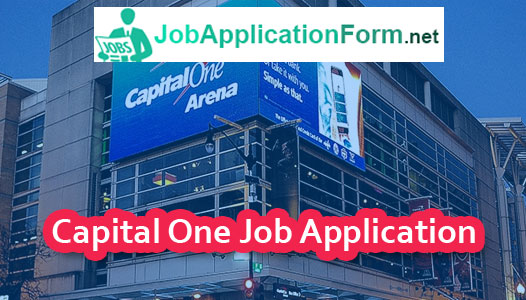 Capital One Application Online