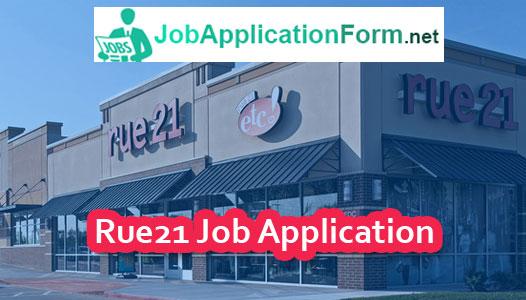 rue21 job application form