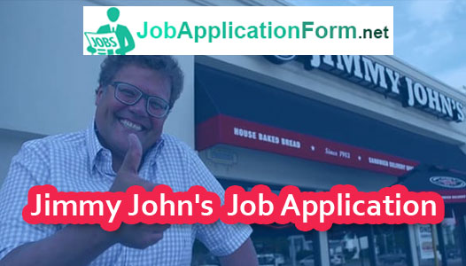 Jimmy John's Job Application Form