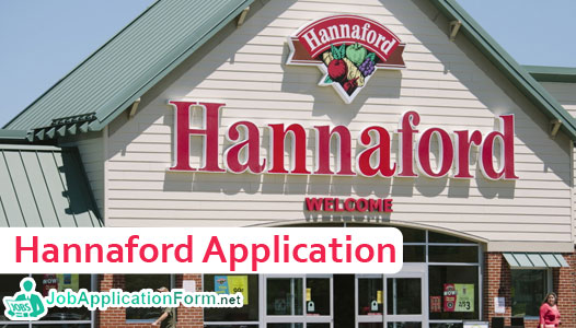 Hannaford Job Application