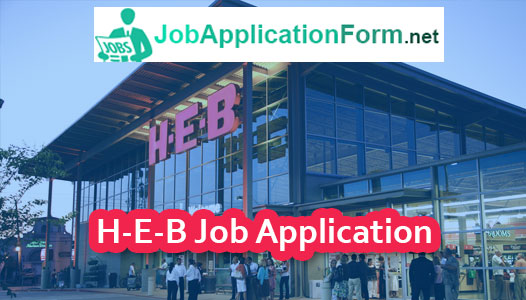 HEB Job Application Online