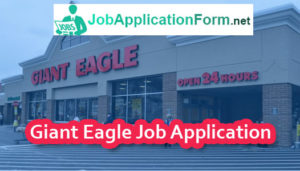 Giant Eagle Application Online & PDF 2019 | Careers, How to