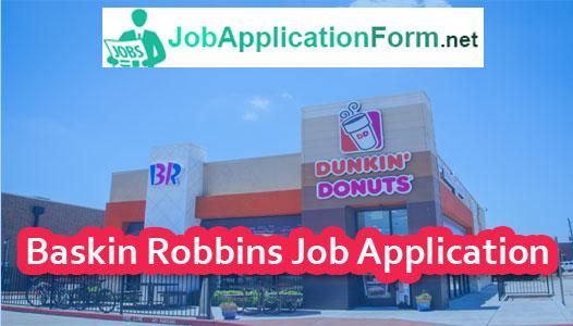 Baskin-Robbins-job-application-form - Careers, How to ...