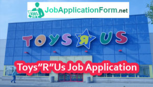 Toys R Us Job Application Online