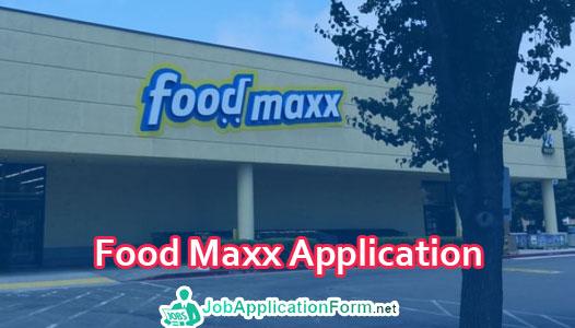 Food Maxx Job Application Form