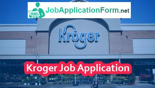 Kroger Job Application Online