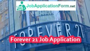 Forever 21 Job Application Online