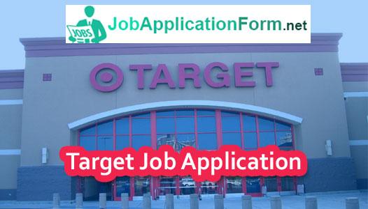 Target-job-application-form