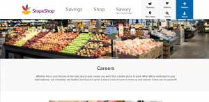 Stop & Shop Application