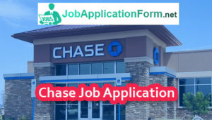 chase bank online application for job