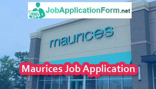 Maurices Application Online