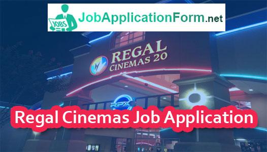 Regal Cinemas Application Online