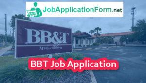 BBT Job Application Form
