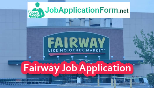Fairway Market Application Online
