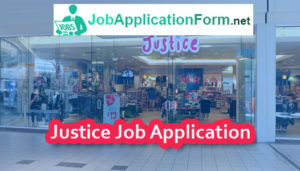 Justice Job Application Form