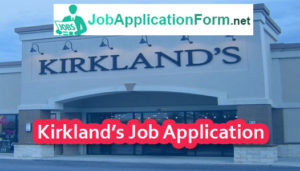 Kirkland's Application Online