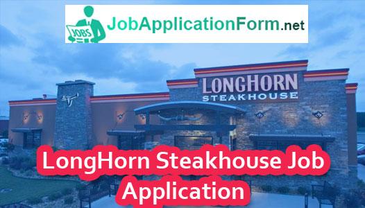 LongHorn Steakhouse Application Online