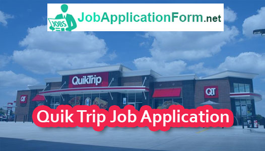 Quik-Trip-Job-Application-Form Quiktrip Job Application Form on free generic, part time, blank generic,