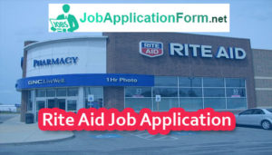 Rite Aid Job Application Form
