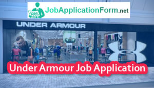 Under Armour Job Application Form